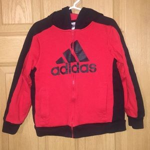 Adidas zip up and pants